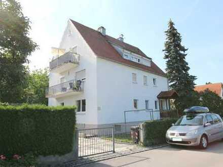 3,5-Zimmer-Hochparterre mit Terrasse und Garten in Meitingen