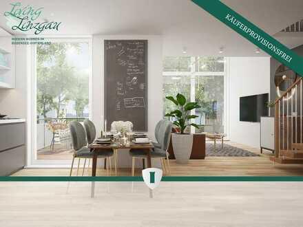4,5-Zimmer-Maisonettewohnung (Neubau KfW 55) – LIVING LINZGAU – Modern Wohnen im Bodensee-Hinterlan