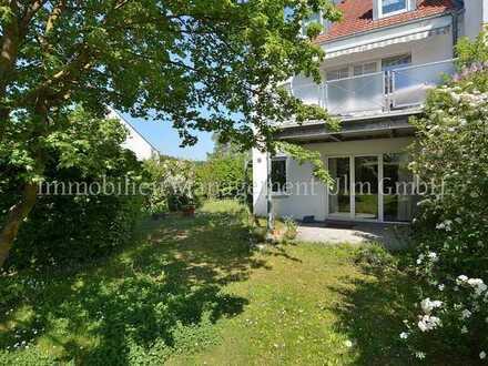 3-Zimmer Erdgeschosswohnung mit Terrasse und Gartenanteil!