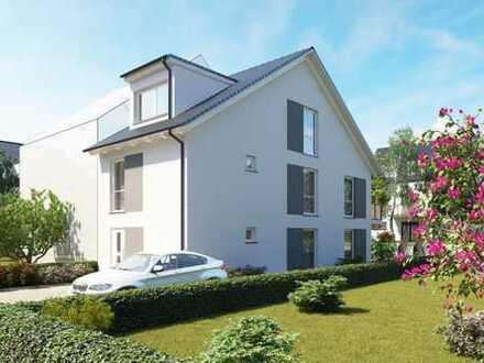 Haus-in-Haus Konzept - 3-Zimmer-Neubau-Maisonette-Wohnung