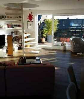Golzheim Zietenstraße!!!, Wohnen im Loftstyle ,2 Terrassen, Einbauküche, Holzboden, Lift!