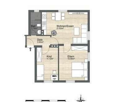 Helle Erdgeschoßwohnung,komplett renoviert. Hier zieht man gerne ein.
