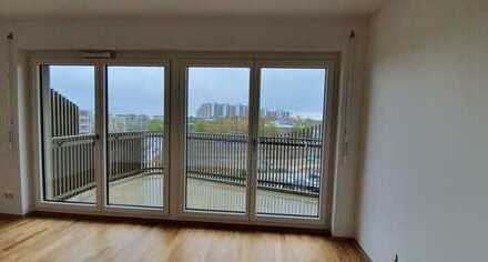 Beautiful new top-floor 2-room apartment with balcony