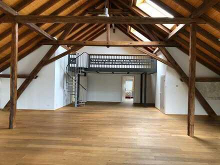 Besondere Büroräume / Atelier / Ausstellungsfläche in Burgheim zu mieten - Immobilien Baumeister