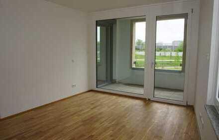 Neubau! Erstbezug! 2-Zimmer-Wohnung mit Einbauküche und Loggia!