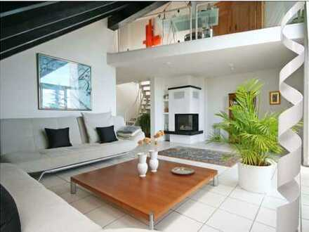 Stilvolle, neuwertige 3,5-Zimmer-Maisonette-Wohnung mit 2 Balkonen und EBK in Mainz Laubenheim