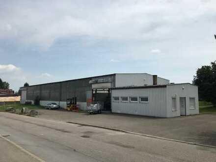 Gewerbehalle, Lager, Produktion mit Krananlagen