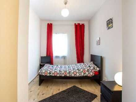 Ab sofort Modern möblierte Zimmer in Business WG mit Balkon und gem. Nutzung von Küche und Bad