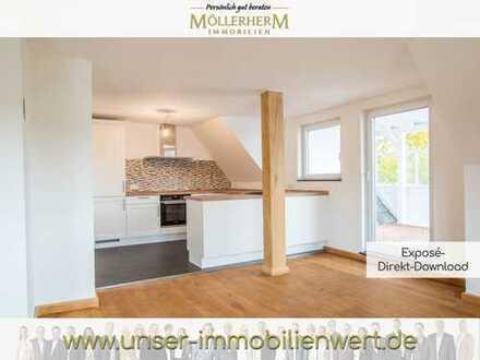Top sanierte Dachgeschosswohnung mit Dachterrasse in Travemünde