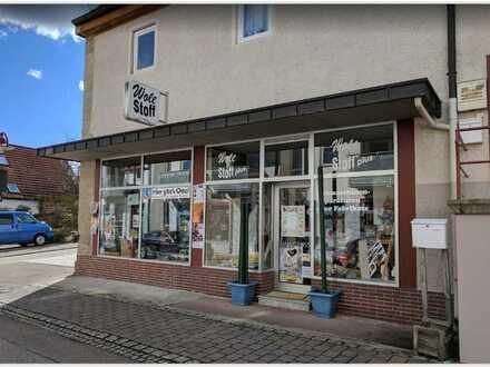 Ladengeschäft mit Stellplatz in Löchgau