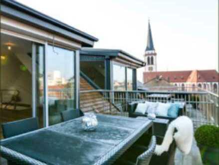 Exklusive, lichtdurchflutete Maisonette-Wohnung in zentraler Lage