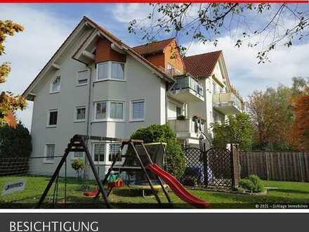 ***Werben im Spreewald*** Hübsche Wohnung unterm Dach mit leichten Schrägen!