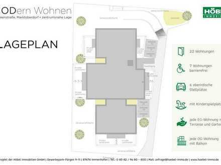 90 m² • 3 Zimmer • nach Süden • barrierefrei • RESERVIERT