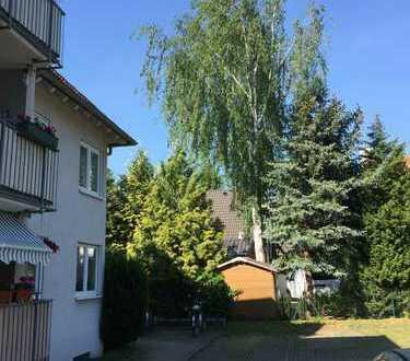 sonnige 2-Zimmerwohnung im DG mit Balkon in Coswig