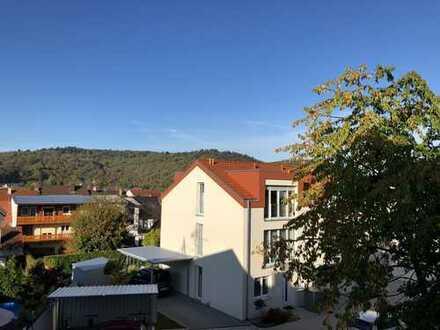 Hochwertige, helle Wohnung mit Blick ins Grüne - vor den Toren von Karlsruhe! Baujahr 2017