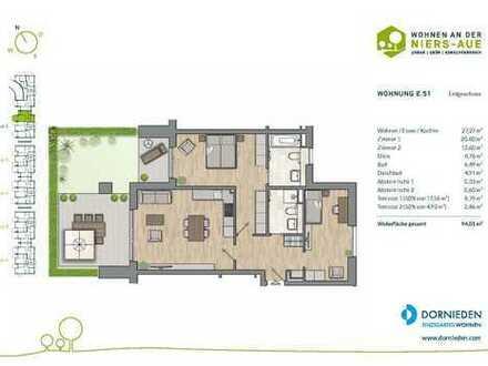 Klein aber fein ! 2-Zimmer-Erdgeschosswohnung mit Sonnenterrasse