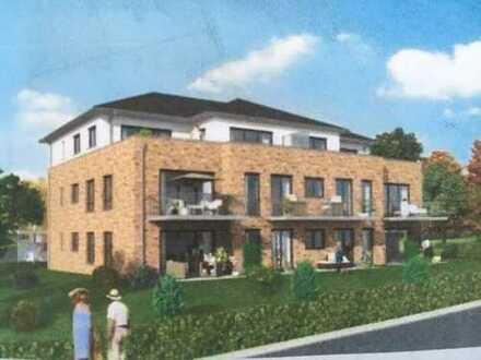 Schöne 3-Zimmer-Penthouse-Wohnung in Hagen am Teutoburger Wald, Erstbezug mit EBK u. großem Balkon