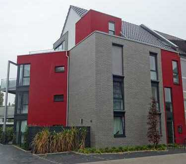 Exclusives Architektenhaus Moers-Vinn, Penthouse mit Südbalkon und großer Terrasse