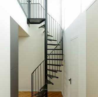 Design-Penthouse nach Kernsanierung/Erstbezug mit Terrasse und Loggia