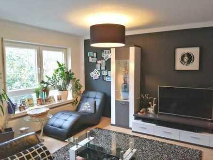 *Gepflegte 3-Zimmer-EG-Wohnung mit Souterrain-Bereich und Balkon* in Mühlheim-Lämmerspiel