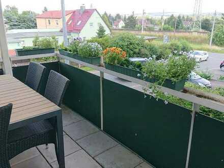 1-Zimmer-Wohnung mit Balkon und Einbauküche in Glauchau Am Südhang