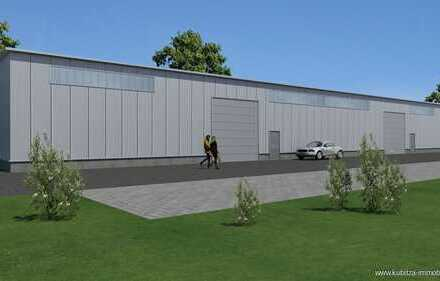 Neubauprojekt Gewerbehalle ca. 188 qm Lagerfläche plus 620 Grundstück in Bottrop-Grafenwald !