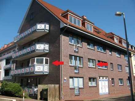 Großzügige Stadtwohnung mit großem Balkon zentral verkehrsgünstig in Elmshorn