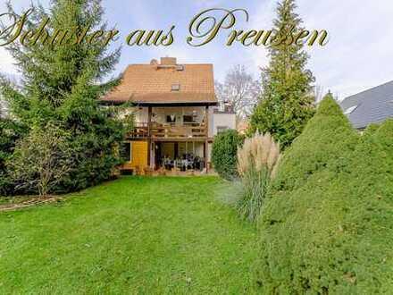 Schuster aus Preussen - Schildow - gepflegtes Einfamilienhaus auf über 800 m² großem Grundstück, ...