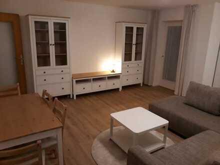 Provisionsfrei von Privat: Schöne vollmöblierte Wohnung mit Balkon/Keller/Stellplatz, ruhige Lage