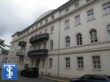 vermietete 2-Zimmer-ETW EG mit Loggia, EBK, Wanne und Dusche sowie Stellplatz Zentrum Plauen