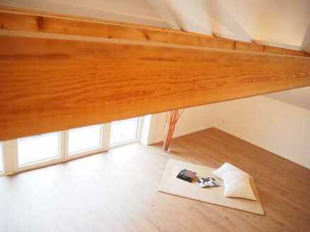 Erstbezug 4-Zimmer-Dachgeschosswohnung mit Balkon in Dasing