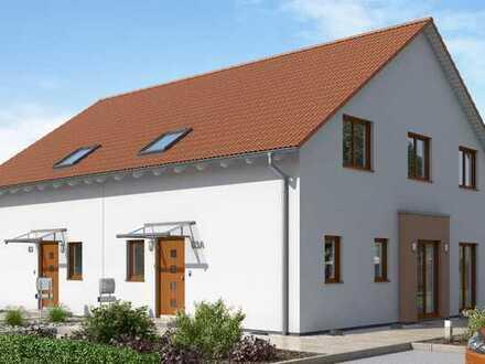 Neubau-Doppelhaushälfte inkl. Grundstück
