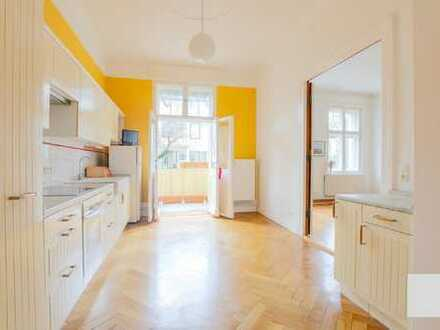 Charmante, Stilvolle, und geräumige 3-Zimmer-Altbauwohnung mit Balkon und EBK in Zehlendorf, Berlin