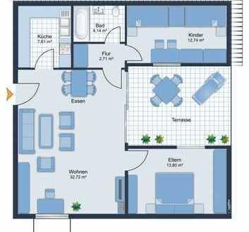 KAPITALANLAGE - Drei-Zimmer-Wohnung