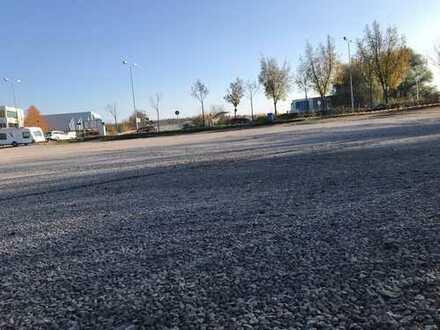 Freifläche Stellplatz Autoplatz Lager Handel Gewerbe Grundstück Miete