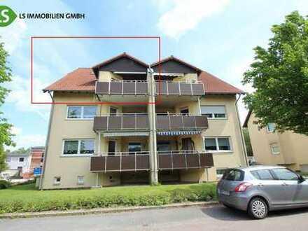 Jetzt anschauen! Sehr schöne Maisonette-Wohnung mit Balkon in gepflegtem Wohnhaus