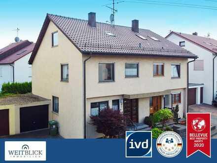 WEITBLICK: Doppelhaushälfte in ruhiger Lage!