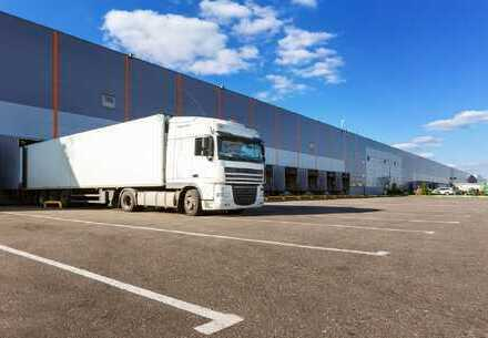 ERSTBEZUG! PROVISIONSFREI: ca. 50.000 qm Logistik | Rampe | 10,50 m UKB !