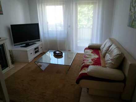 Schöne, helle 2 Zi-Wohnung mit Balkon und Einbauküche in Weinsberg