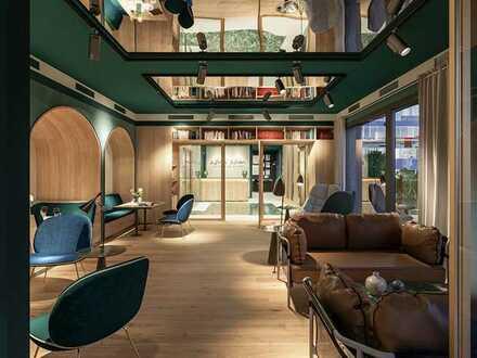 1 Zimmer Wohnung im 11. OG in Direkter Rheinlage im Medienhafen