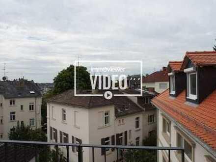Neubau Erstbezug - Blick über Wiesbaden