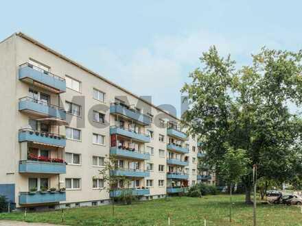 Gute Gelegenheit bei Berlin: Bewohnte, gut geschnittene 2-Zimmer-Wohnung mit Balkon
