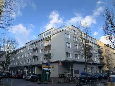 Do-Klinikviertel: Einzigartige, neue LOFT-Wohnung (nach KfW) mit großer Terrasse, Service-Paket