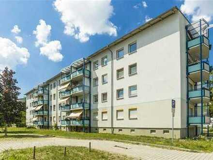 grundrissgeänderte 3-Raumwohnung mit Balkon