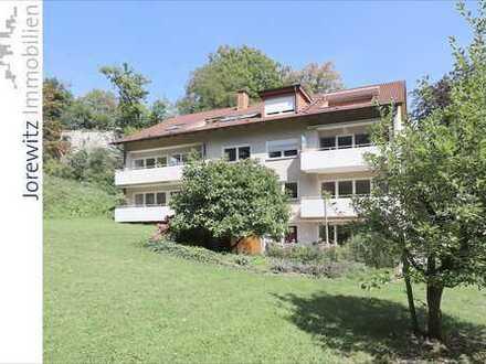 Bi-Mitte: 3 Zimmer-Wohnung mit schönem Balkon in exklusiver Hanglage des Johannistals