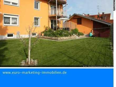 Großzügige 4ZKB Erdgeschoßwohnung mit Garten, Garage u. Stellplatz in Neuburg-Bruck