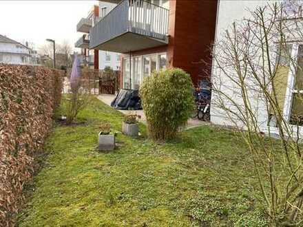Stilvolle, gepflegte 3-Zimmer-Erdgeschosswohnung mit Terrasse und Garten am Werdersee