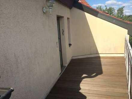 Werdau-Süd, 2,5-Zi.,Maisonetten-Whg, Balkon, Einbauküche, Einbauschränke