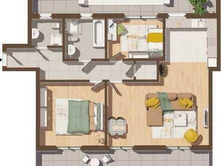 Erstbezug: 3 Zimmer Penthousewohnung WE10