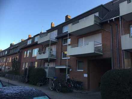 Erstbezug nach umfassender Renovierung/Modernisierung: stilvolle 1-Zimmer-Wohnung in MS-Hafengebiet!